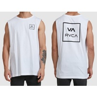 RVCA Muscle Shirt VA All The Way White Extra Large