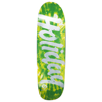 Holiday Skateboards Deck Tie Dye Green Shaped 9.25