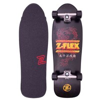 Z-Flex Complete Cruiser Skateboard Dragon 80s Bear 31