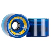 Cloud Ride Skateboard Wheels Translucent Midnight Blue 78A 66mm