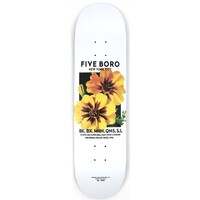 5Boro Skateboard Deck Flower Seed Yellow 8.25
