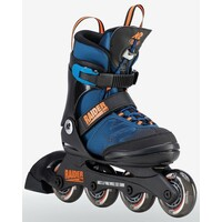 K2 Raider Pro Blue Orange Inline Skates Youth US 11 - 2