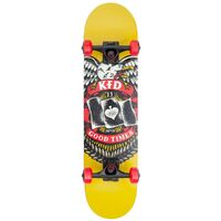 KFD Skateboard Complete Badge Young Guns Yellow 7.5