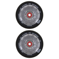 Infinity 110mm Scooter Wheels Set Of 2 With Bearings - Mirror