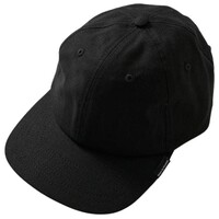 Afends Hat Cap Classic Hemp 6 Panel Black