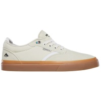 Emerica Mens Skate Shoes Dickson White Gum