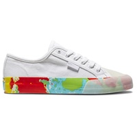 DC Mens Shoes Manual S X Evan Smith White