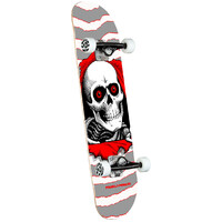 Powell Peralta Skateboard Complete Ripper One Off Silver 8.0