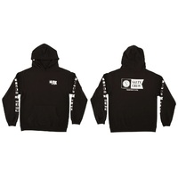 Salty Crew Hoodie Alpha Fleece Black Youth Large
