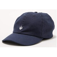 Afends Hat Cap THC Hemp 6 Panel Navy