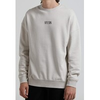 Afends Crew Neck Bleach Oversized Moonbeam Large