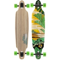 Sector 9 Complete Longboard Skateboard - Lookout Bamboo - White Wheels