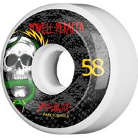 Powell Skateboard Wheels - Mcgill Pf Skull & Snake - 58mm