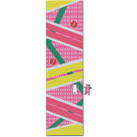 "GRIZZLY SKATEBOARD GRIP TAPE SHEET - 9"" x 33"" - CHRIS COLE HOVER"