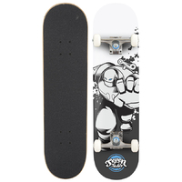 "Seven Complete Skateboard 7.25"" Wind Up Robot V2"
