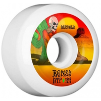 BONES SKATEBOARD WHEELS - V1 STF SERVOLD DRY HEAT 83B 55MM