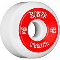 Bones Skateboard Wheels 52mm 100's Red V5