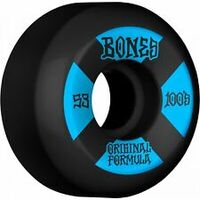 Bones Skateboard Wheels 53mm 100's Black Blue V5