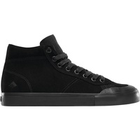 Emerica Mens Skate Shoes - Indicator High - Black Black Black