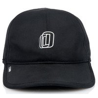 Official 6 Panel Hat - Miles Pro Tech - Black Adjustable