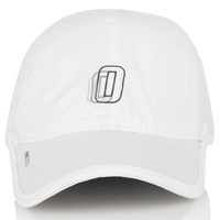Official 6 Panel Hat Miles Pro Tech White Adjustable