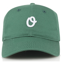 Official 6 Panel Hat - Miles Olo Sport - Green Adjustable