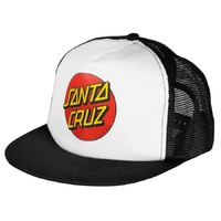 Santa Cruz - Classic Dot Trucker Black