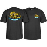 POWELL PERALTA OVAL DRAGON T-SHIRT - MEDIUM BLACK