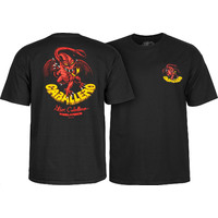 POWELL PERALTA CABALLERO ORIGINAL DRAGON T-SHIRT - MEDIUM BLACK