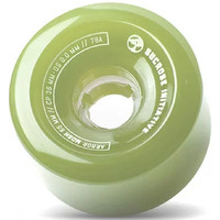 Arbor Longboard Skateboard Wheels - Mosh Fusion 65MM - Ghost Green