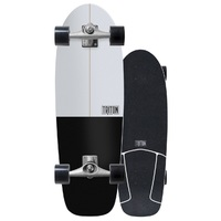 Carver Triton Skateboard Complete Cx Trucks Black Star