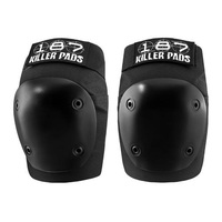 187 Fly Knee Pad Black Size Adult Medium