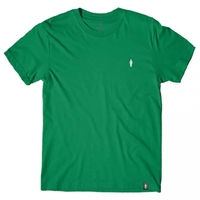 Girl Micro OG Embroidered T-Shirt Kelly Green Medium