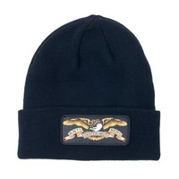 Anti Hero Eagle Patch Beanie Black