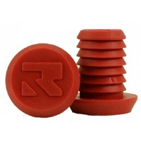 Root Industries Bar Ends Plugs Sold As Pairs Standard Red