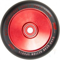 MGP Pro Corrupt Hollow 110mm Scooter Wheels Set Of 2 Black Red