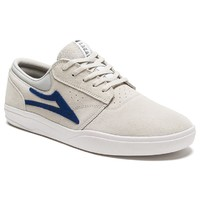 Lakai Mens Skate Shoes Griffin White Suede