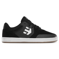 Etnies Kids Skate Shoes Marana Black Gum White