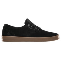 Emerica Mens Skate Shoes Romero Laced Black Charcoal Gum