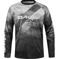 Dakine Thrillium Mtb Ls Jersey Black White Medium