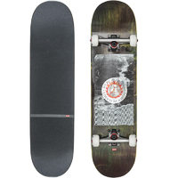 Globe Skateboard Complete - G2 In Flames Holo Flood 8.375""