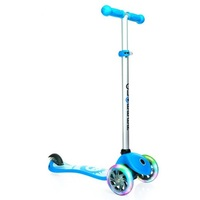 Globber My Free Fantasy Scooter 3 Wheel - Led Wheels - Smiling Sky Blue