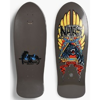 Santa Cruz Natas Panther Metallic Black Skateboard Deck