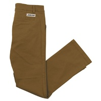 Santa Cruz Classic Cali Chino Pants Old Gold Size 34 Mens