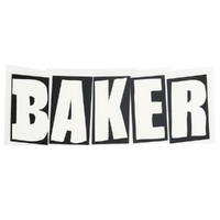Baker Skateboards Sticker Small - Brand Logo
