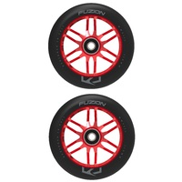 Fuzion 110mm Dose Scooter Wheels - Red