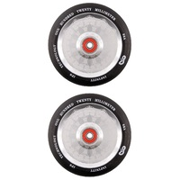 Infinity 120mm Scooter Wheels Set Of 2 With Bearings Mayan Mirror