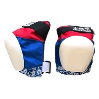 187 Pro Knee Pad Red White Blue Size Adult Medium