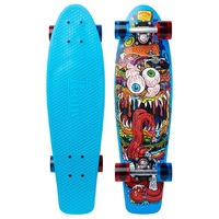 "Penny Nickel Skateboard Complete 27"" - Burger Monster"