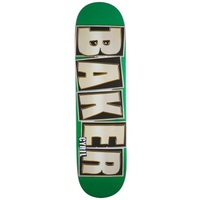 Baker Skateboard Deck 8.0 Cyril Brand Name Glitter Green